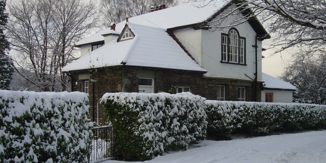 Brookwood Cottage Snow